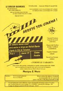 1997 Arrête ton cinéma