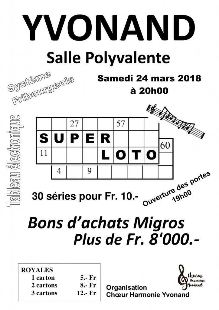 Affiche Loto 2018